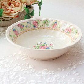 お茶碗 おしゃれ かわいい 北欧 薔薇雑貨 エレガントローズライスボウル 母の日ギフト