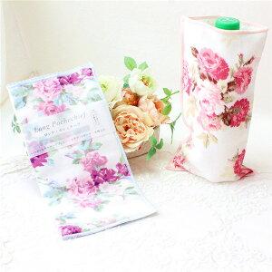 ペットボトルホルダー カバー 可愛い おしゃれ 花柄 薔薇 母の日ギフト ケース