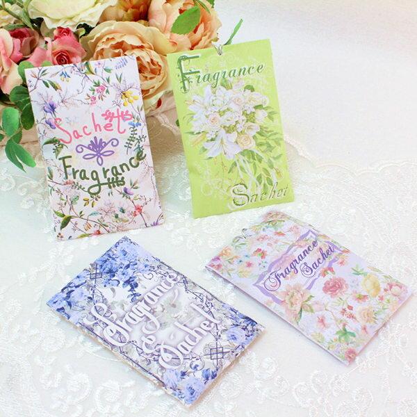 薔薇雑貨 サシェ袋 香袋 アロマ ローズの香り バラ 花柄 おしゃれ かわいい 母の日ギフト