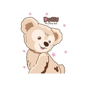 【Lサイズ】ワッペン アップリケ 大きい アイロン かわいい キャラクター ディズニー 花柄 プリントシール ダッフィー