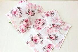 薇雑貨 花柄 ピンク ボディータオル お風呂用タオル おしゃれ かわいい ローズ 薔薇雑貨 母の日母の日ギフト