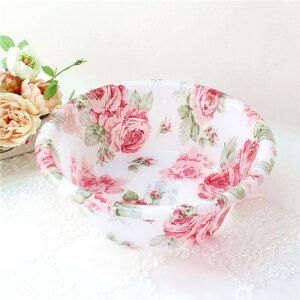 湯おけ 洗面器 深型ボウル 北欧 薔薇 かわいい おしゃれ 花柄 母の日ギフト 薔薇雑貨