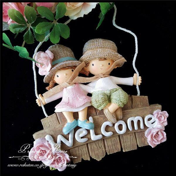 ウェルカムボード 玄関 ウェルカムプレート おしゃれ かわいい ローズ 薔薇雑貨姫系 花柄 ボタニカル バラ 雑貨 花柄 かわいい 母の日ギフト 02P28Sep16