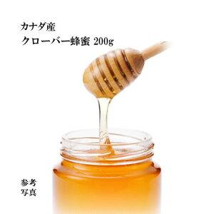 カナダ産 クローバー蜂蜜200g『1000円ポッキリ 送料無料』【ネコポス】【宇和養蜂】【smtb-KD】