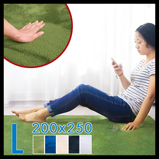 ラグ 洗える 200X250 3畳 5cmラグマット 北欧 シャギーラグ カーペット 無地 ウォッシャブル 絨毯 じゅうたん リビング 床暖房対応 寝室 スマホ タブレット マイクロファイバー