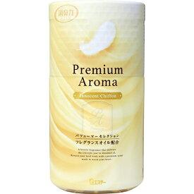 《エステー》トイレの消臭力 プレミアムアロマ トイレ用 イノセントシフォンの香り 400mL