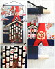 Crape work tapestry / Gion festival wall decoration