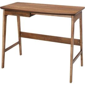 木製デスク (テーブル 机) 【Tomte】トムテ 引き出し整理 収納付き 幅90cm×奥行45cm×高さ70cm TAC-243WAL