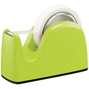 (まとめ)プラス テープカッター TC-301 ライトグリーン【×10セット】 緑