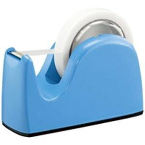 (業務用10セット)プラス テープカッター TC-301 ライトブルー 青