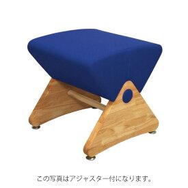 デザイナーズスツール イス バーチェア 椅子 カウンターチェア キャスター付 移動可能 車輪付き き クリア(布:ブルー/エラストマー)【Mona.Dee】モナディー WAS01SC 青