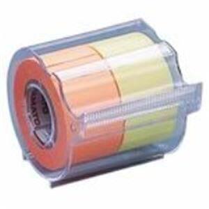 (まとめ)ヤマト メモックロールテープ 蛍光 NORK-25CH6C【×10セット】