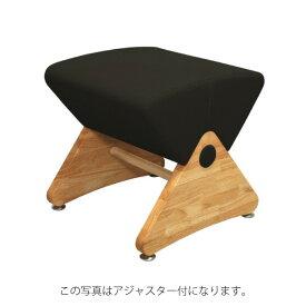 デザイナーズスツール イス バーチェア 椅子 カウンターチェア キャスター付 移動可能 車輪付き き クリア(布:ブラック/ナイロン)【Mona.Dee】モナディー WAS01SC 黒