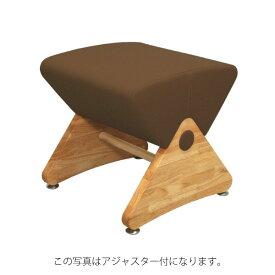 デザイナーズスツール イス バーチェア 椅子 カウンターチェア キャスター付 移動可能 車輪付き き クリア(布:ブラウン/ナイロン)【Mona.Dee】モナディー WAS01SC 茶