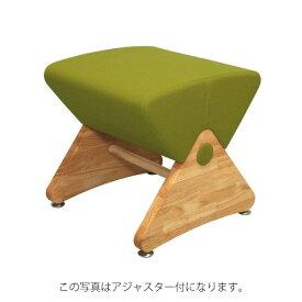 デザイナーズスツール イス バーチェア 椅子 カウンターチェア キャスター付 移動可能 車輪付き き クリア(布:グリーンー/ナイロン)【Mona.Dee】モナディー WAS01SC 緑