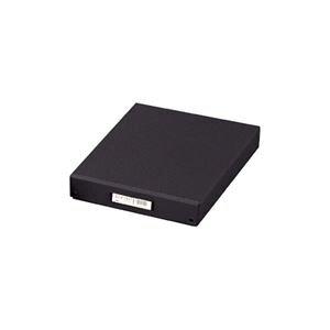 (業務用3セット) LIHITLAB デスク (テーブル 机) トレー(整理 収納 ボックス/書類整理) B4 フタ付き A-713 ブラック 黒