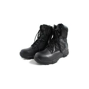 """アメリカ軍 サイドジッパブーツ/靴 【 6W/24cm 】 特殊部隊""""DE LTA""""モデル FB047YN ブラック 【 レプリカ 】 黒"""