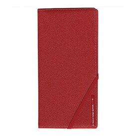コンサイス スキミングブロック パスポートケース皮革調R レッド CO-293255 【2個セット】 赤