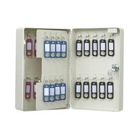 カール事務器 キーボックス コンパクトタイプ 38個整理 収納 アイボリー CKB-C38-I 乳白色