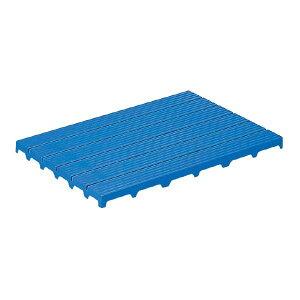 三甲(サンコー) サンスノコ(すのこ 蒸れにくく 通気性が良い 板/敷き板) 897mm×593mm 樹脂製 #960 ブルー(青) 青