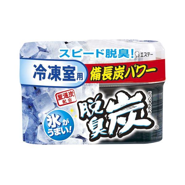 (まとめ) エステー 脱臭炭 冷凍室用 70g 1セット(3個) 【×4セット】
