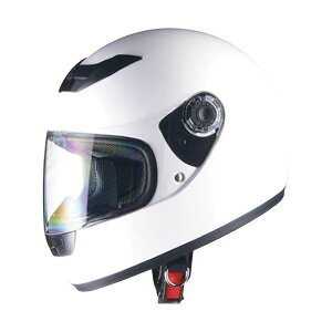 リード工業 (LEAD) フルフェイスヘルメット CR715 ホワイトWH フリー 白