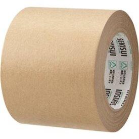 (まとめ) 積水化学 クラフトテープ 100mm×50m K50SX06 1巻 【×10セット】
