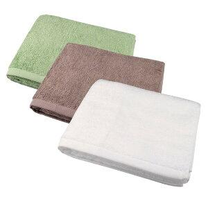 泉州の高級バスタオル 【くるみ色】 60cm×130cm 綿100% 日本製 国産