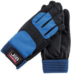 (まとめ)作業用手袋/スパイダー1 【Mサイズ×5セット】 洗える ウォッシャブル ジョブマスター JWG-150M