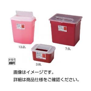 (まとめ)シャープスコンテナー 3.8L 赤【×30セット】