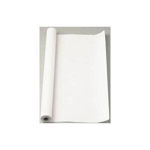 (まとめ) マス目模造紙 マス目ロール30 マ-53 ホワイト 1巻入 【×2セット】 白