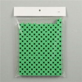 (まとめ) Artecブロック/カラーブロック 【基本四角】 100pcs ABS製 黄緑 【×5セット】