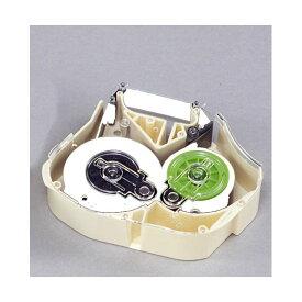 (業務用セット) マックス チューブマーカー・レタツイン旧機種専用消耗品 インクリボンカセット LM-IR330W 白 1巻入 【×2セット】