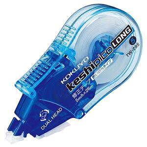 (まとめ) コクヨ 修正テープ(ケシピコロング) 5mm幅×26m 青 TW-295 1個 【×10セット】