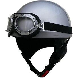 リード工業 (LEAD) ハーフヘルメット CR750 シルバー フリー