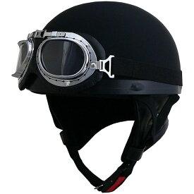 リード工業 (LEAD) ハーフヘルメット CR750 マットブラック フリー
