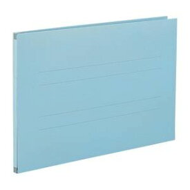 (まとめ) のび-るファイル エスヤード 紙表紙(背幅17-97mm) AE-61F-10 ブルー 1冊入 【×5セット】 青