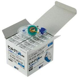 (まとめ) トンボ鉛筆 テープのり ピットテープM 貼るタイプ つめ替え 8.4mm×16m PR-MS8.4BLK12P 1パック(12個) 【×2セット】