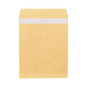 (まとめ) ピース R40再生紙クラフト封筒 テープのり付 角3 85g/m2 844 1パック(100枚) 【×5セット】
