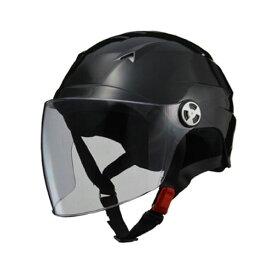 リード工業 (LEAD) シールド付ハーフヘルメット RE40 ブラック フリー