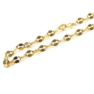 造幣局検定刻印入り 純金 k24 ペタル ネックレス チェーン 50cm