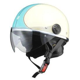 リード工業 (LEAD) ハーフシールド付ハーフヘルメット O-ONE IV/BL フリー