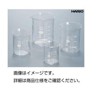 (まとめ)硼珪酸ガラス製ビーカー(HARIO)100ml【×10セット】