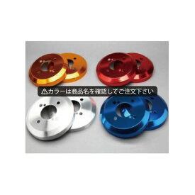 ムーヴ/ムーヴ カスタム L185S アルミ ハブ/ドラムカバー リアのみ カラー:鏡面ブルー シルクロード DCD-006