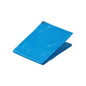 (まとめ) TANOSEE ブルーシート#1200 プラハトメ 3600×5400mm 1枚 【×5セット】