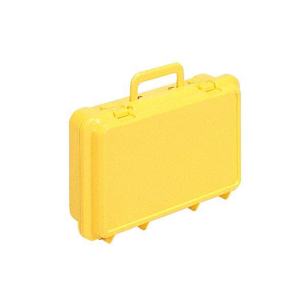 (業務用30個セット)三甲(サンコー) ハンディボックス(工具入れ/ツールボックス) ハンドル付き T イエロー(黄) 【代引不可】