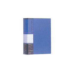 (業務用セット) はがきホルダー クリアブック/はがき用 120枚整理 収納 CB4073-Bブルー【×20セット】 青