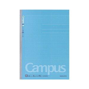 (まとめ) コクヨ キャンパスノート(ドット入り罫線) A4 B罫 40枚 ノ-201BTN 1セット(5冊) 【×5セット】