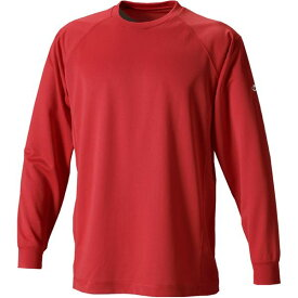 ファイテン(PHITEN) RAKUシャツSPORTS(吸汗速乾)長袖レッドS JF900203 赤