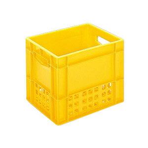 三甲(サンコー) 飲料輸送用コンテナ/ピュアクレート 【1L紙パック×12本用】 12P-6 イエロー(黄) 黄